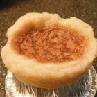 English Butter Tarts - There 's no butter in these delightful, diminutive tarts, but you 'd never guess. There are, however, lots of brown sugar, corn syrup, raisins and shortening in them. They bake up sweet, buttery and delicious.