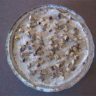 Chocolate Peanut Butter Pie II -  To make this guilt-free pie, reduced fat peanut butter, fat free chocolate pudding, and light whipped topping are mixed together and poured into a graham cracker crust and chilled.