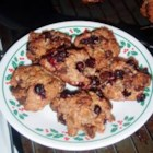 Very Cranberry Chocolate Chip Cookies - An equal amount of cranberries to chocolate chips equals heaven! These are very high in fiber as well given the oat bran.