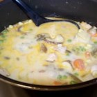 Chicken and Potato Soup - Instead of just plain potato soup, add some chicken and a few veggies. You're sure to like it!