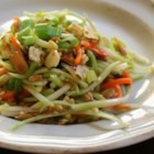 Chinese Broccoli Slaw - This Chinese slaw uses broccoli slaw mix and ramen noodles with some common pantry items to make a versatile salad for any occasion.