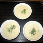 Cream of Artichoke Soup II - Artichokes are steamed, then stripped of their flesh and hearts and combined with sauteed leeks and cream in this subtle soup.