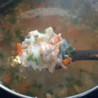 Classic Chicken and Rice Soup - Beginning with a Fast Chicken Soup Base using store bought chicken, it is easy to knock hours off of the cooking time usually needed for homemade chicken and rice soup and still end up with soup that tastes even better than the 'from scratch' method.