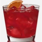 Negroni Cocktail I - A tantalizing combination of campari, gin, vermouth, soda and lemon. Dare to try dry!