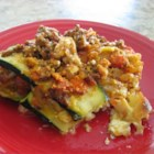 Summer Lasagna - Zucchini takes the place of pasta in this recipe, making it lighter than a regular lasagna. It's delicious!