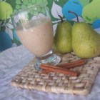 Cinnapear Smoothie - Toss in a banana, some milk, and a few other things and you've got a delightful breakfast drink.