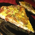 Tortilla Espanola - A Spanish tortilla is an egg omelet full of potatoes and onion, started on the stove and finished in the oven. It makes a great light supper, and it's perfect for breakfast, brunch, lunch, or even cold.