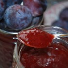 Damson Plum Cardamom Jam - The Damson plum makes a tart, flavorful, soft-setting jam that is a rich, deep wine-colored spread for cookies, waffles, bread, or anything else, really.  Cardamom adds an unusual and subtle perfume to these preserves.  Though this recipe does take some time to complete, the majority of the cooking time is hands-off.  The best part?  You will not need to purchase pectin from the store!
