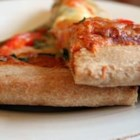 Amazing Whole Wheat Pizza Crust - A healthy whole wheat crust that comes out soft and chewy on the inside and crisp on the  outside. Use with your favorite pizza toppings or pizza recipes.