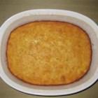 Cornbread Pudding - Corn baked into cornbread -- delicious!