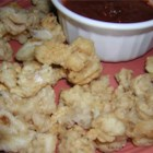 Buttermilk-Battered Calamari - This is a great recipe for those who love battered calamari. It's so simple and the finished product is awesome! Serve with marinara sauce for dipping.