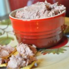 Easy Liver Pate - This is a favorite passed down to me from my mom.  We have it at family gatherings and this year I'm taking it to the Super Bowl party. Seasonings may be adjusted to suit your taste.  Serve with your choice of crackers.