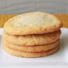 Chewy Sugar Cookies - I love sugar cookies that are crisp on the outside and very chewy on the inside.  This recipe can easily be made into snickerdoodle cookies by rolling the dough in cinnamon-sugar before baking.  I also sometimes add almond extract for a different flavor.