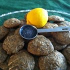 Poppy Seed Hungarian Style Cookies - Poppy seed cookies with a hint of lemon. Delicious!