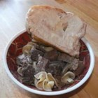 Slow Cooker Venison Stroganoff - This venison stroganoff cooks unattended all day until tender; when dinnertime rolls around, it takes just 30 minutes to finish off.