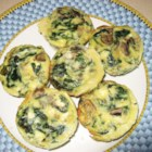 Spinach Mushroom Quiche - Whoever invented crescent rolls, should get a medal. In this recipe they make a dandy crust, filled to the brim with a fabulous cheese, mushroom, half and half egg mixture. And a package of herb and lemon soup mix.