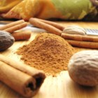 Pumpkin Pie Spice II - A blend of  cinnamon, nutmeg, ginger and cloves. This will make enough for one recipe of pumpkin pie. But you could increase amounts to keep a mix on hand.