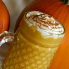 Pumpkin Smoothie - Pumpkin puree, milk, brown sugar, and cinnamon are all you need to make this fall smoothie.