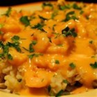 Seafood Newburg - A shellfish dish with a rich, elegant sauce. It's excellent served over rice or noodles.