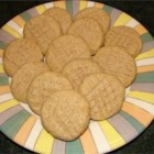 Peanut Butter Cookies VI - Very easy recipe: you mix all the ingredients in one bowl. Makes a very soft peanut butter cookie.  No need to press cookies down before you bake them. Very good!