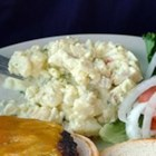 Mother's Potato Salad - A chunky potato salad has chopped sweet gherkins and stuffed olives for sweet and tangy flavor.