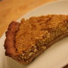 Kabocha Squash Pie (Japanese Pumpkin Pie) - Kabocha squash with its striped, jade green rind is seeded and steamed before blending with tofu, sugar, cinnamon, vanilla, and soy milk in this vegan version of pumpkin pie.