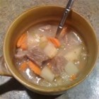 Apple Cider Stew - This warm and sweet fall favorite combines the flavor of apple with beef, carrots, and potatoes.