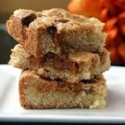 Apple Snack Squares - This delicious snack cake combines apples, nuts, and butterscotch chips.