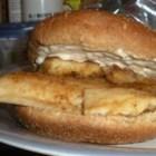 Pan Fried Tilapia Sandwich Recipe
