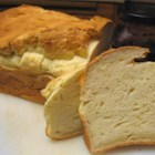 Gluten-Free White Bread for Bread Machines - A basic white bread recipe without the gluten. Easily made in your bread machine! Xanthan gum and the exotic flours are usually easily found in your local health food store.