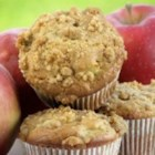Apple Pie Muffins - These buttery fruity muffins are ideal for dessert or fancy weekend breakfast treats.