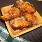 Mom's Sticky Chicken From 1972 - Sweet, sticky, spicy chicken wings are an irresistible treat. They are fried to a crispy crust, then baked in the sweet and savory sauce.
