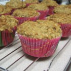 Seminary Muffins - Bananas and applesauce make these muffins very moist and tender.