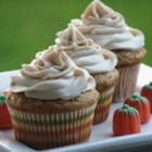 Pumpkin Spice Cupcakes - Homemade pumpkin cupcakes with a cinnamon-cream cheese frosting are delicious in the fall ,or any other time of the year.