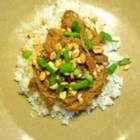 Slow Cooker Thai Pork with Rice - Shredded pork and rice with a Thai flavor. Perfect for the slow cooker. Our family's favorite dish. For extra spicy tastes, serve Thai garlic chile paste on the side.