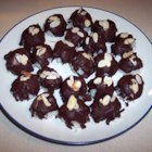 Almond Coconut Chocolate Cookie Balls - These little cookies taste a lot like the popular candy bar.