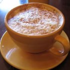 Abbey's White Chocolate Latte - I created this white chocolate masterpiece for my little sister, Abbey, who's a latte fanatic. She was blown away, and drained it to the last drop! This makes one VERY large, indulgent latte, and could probably serve two. Enjoy!