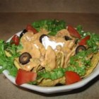 Mexican Dip - This easy hot cheese dip is a delicious, chunky accompaniment to tortilla chips. Try a mixture of ground beef and ground sausage for a yummy variation.