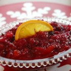 Cranberry Relish I - Classic cranberry relish for your holiday table. Originally submitted to ThanksgivingRecipe.com.