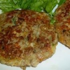 Eggplant Croquettes - Cheese, bread crumbs, parsley, garlic and onion are mixed in with the cooked eggplant and formed into patties. A few minutes in hot oil and you have your croquettes.