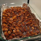Candied Sweet Potatoes - These sweet potatoes are easy to make and not overly sweet.
