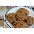 Moist Persimmon Cookie - Persimmon cookies with walnuts and raisins, spiced with cinnamon, nutmeg and cloves.