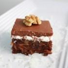 Mississippi Mud Cake I - This very rich cake with coffee, rum, and chocolate is sure to become one of your favorite recipes once you taste it.