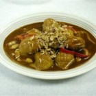 Duck Legs in Green Curry - Spicy Thai curry sauce complements the rich flavor of duck legs.