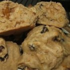 Pumpkin Chocolate Chip Cookies II - This is a wonderful autumn cookie and especially tasty at Thanksgiving served warm.