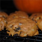 Pumpkin Raisin Cookies - A wonderful cakelike pumpkin cookie that fills your kitchen with a heavenly smell and uses up leftover pumpkin.