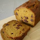 Delicious Pumpkin Bread - This version of sweet pumpkin bread is enhanced with raisins or nuts.