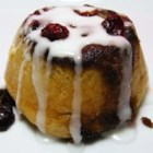 Jiffy Cinnamon Rolls - These no-yeast cinnamon-raisin buns don't need to rise, so you can bake and eat them while it's still morning!