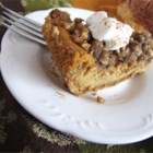Pumpkin Pecan Cheesecake - A new addition to our holiday menu.  Combines pumpkin, pecans, and cheesecake. Originally submitted to ThanksgivingRecipe.com.