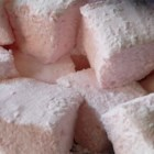 Emily's Famous Marshmallows - These homemade marshmallows made with gelatin, egg whites and sugar syrup can  be spread into a pan or piped to make holiday critters.